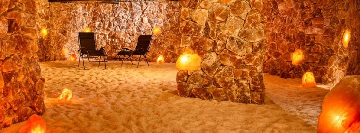Salt Cave-in Santa Barbara yoga retreat