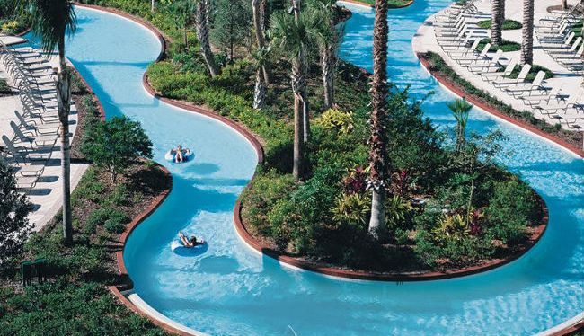 Longest Lazy Rivers at Orlando Hotels