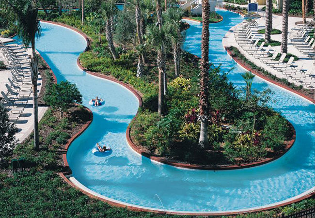 Omni Resort Orlando lazy river