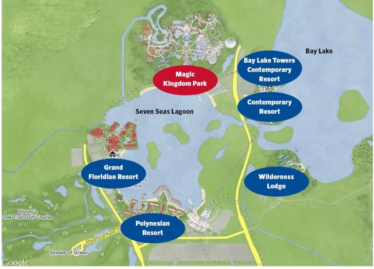 Magic kingdom-area-resorts