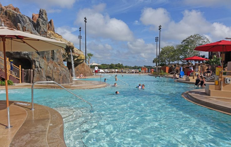 Best pools at WDW - the Polynesian