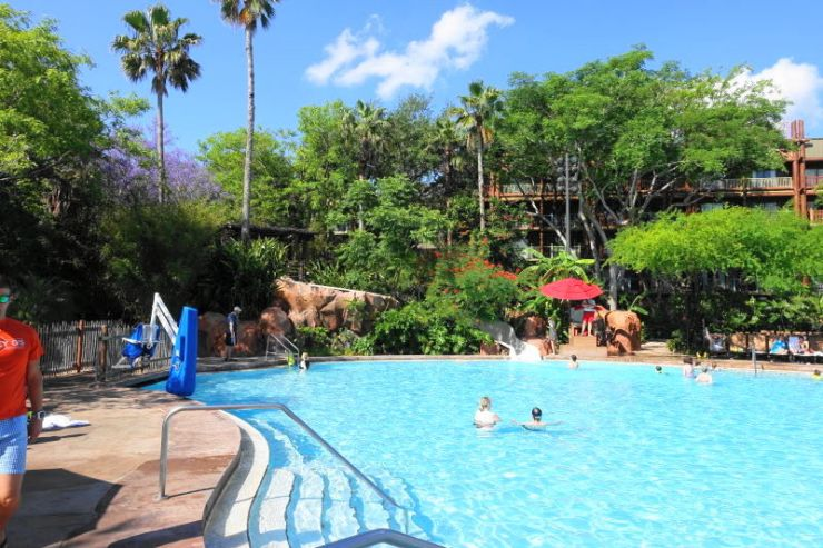 Great WDW pool - Uzima-Pool-Animal-Kingdom